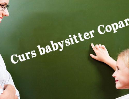 Curs autorizat de calificare bona / babysitter in Cluj